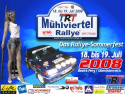 5. Nat. TRT Mühlviertel-Rallye 2008 powered by 3-Spot Wels